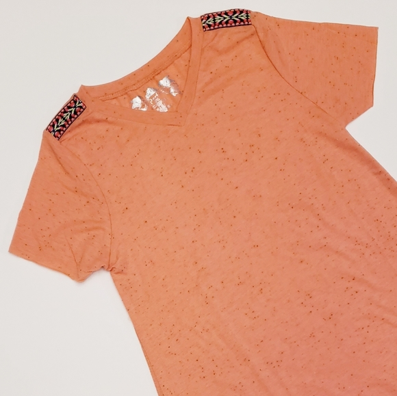 Poof! Other - Girls Coral Tee
